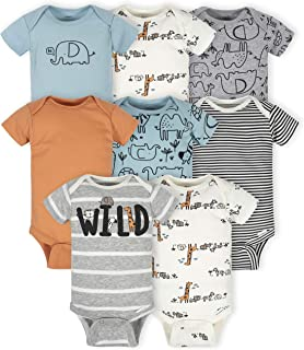 Baby 8-pack Short Sleeve Onesies Bodysuits