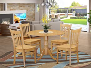 5 PcKitchen Table set - Kitchen Table and 4 Kitchen Dining Chairs