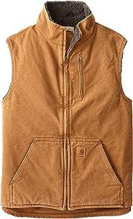 Carhartt Men's Sherpa-Lined Mock-Neck Vest