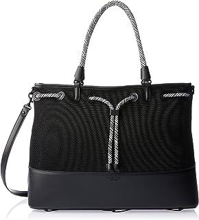 Oroton Women's Berkeley Sport Weekender Bag, Black, One Size