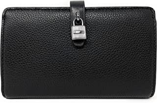 6c059f829b25 Michael Kors Adele Slim Bifold Leather Wallet with Lock Detail