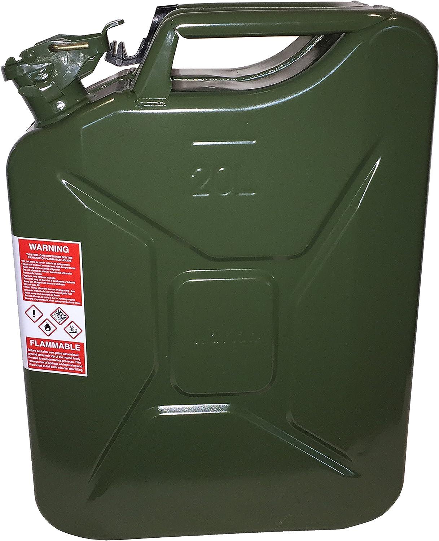 half 20 Liter 5.2 Gallon NATO Jerry Kerosense Gas for Can Diesel Overseas parallel import regular item