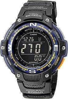 Casio SGW100-2B - Reloj deportivo (47.6 x 13.2 x 51.5 mm, 55g, Negro, CR2025, Aluminio, Resina, Resina)
