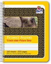pacon primary composition book with picture story