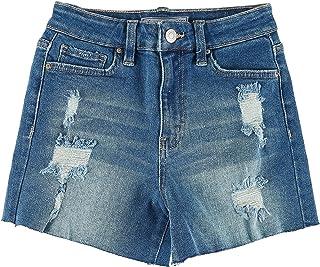 Details about  /Ymi Women/'s Juniors High Waisted Denim Shorts Size 13 Medium Wash Cuffed NEW