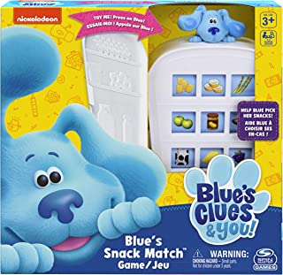 Spin Master Games Nickelodeon Blue's Clues Snack Match Game, Matching Board Game, for Families and Kids Ages 3 and Up (605...