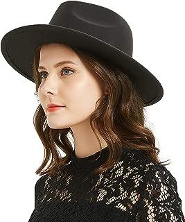 Women or Men Woolen Felt Fedora Vintage Short Brim Crushable Jazz Hat