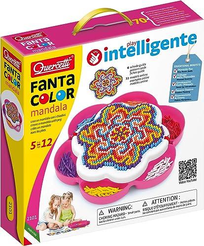 Quercetti FantaColor Mosaïques, Mandalas, 2101