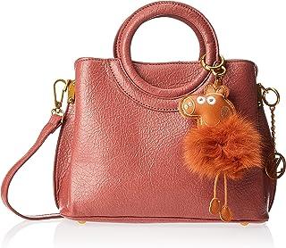 Zeneve London Womens Satchel Bag, Brown - 1191832031