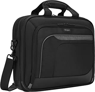 Targus Mobile Elite Travel and Checkpoint-Friendly Business Topload for 15.4-Inch Laptop Bag, Black (TBT045US)