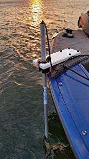 Transducer Mount Assembly for Bow of Boats and Pontoons