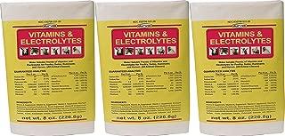 (3 Pack) DURVET 136028 vitamins & Electrolytes, 8 oz