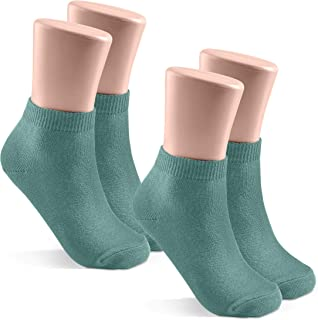 JRP Kids and Baby Socks 2 Pack - Soft Cotton Mini Crew Length for Boys and Girls - Newborn, Toddler and Child - 35 Colors