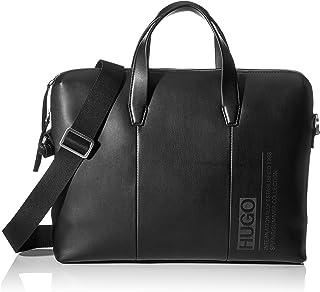 HUGO - Tycoon_s Doc Case, Bolso bandolera Hombre, Negro (Black), 7.5x30x40 cm (B x H T)