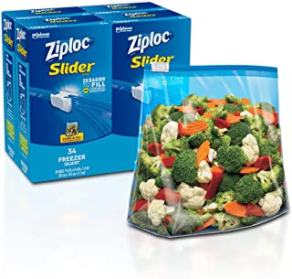 Best ziploc large freezer bags volume Reviews