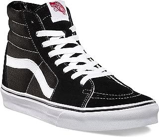 Unisex SK8-Hi Reissue Skate Shoes (36 M EU / 6 B(M) US Women / 4.5 D(M) US Men, Black/Black/White Canvas)