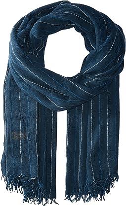 Polo Ralph Lauren - Bespoke Pinstripe Wool Blend Scarf