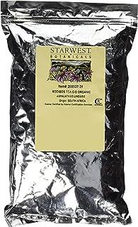 Starwest Botanicals Organic Rooibos Tea Cut & Sifted, 1 Pound