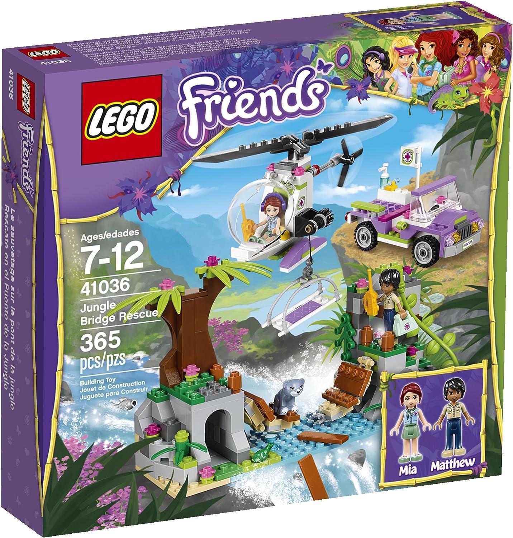 LEGO Friends Jungle Bridge Rescue 41036 Building Set by LEGO