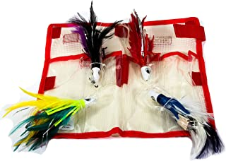 Boone Feather Trolling JIT Kit (Pack of 4)