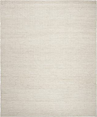 Safavieh Natural Fiber Collection NF750A Ivory Area Rug, 9' x 12'