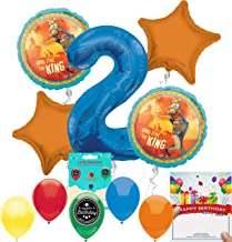 Lion King Party Supplies 2nd Birthday Balloon Decoration
