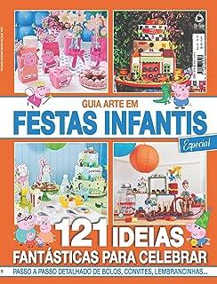 Guia Arte em Festas Infantis ed.01 (Portuguese Edition)
