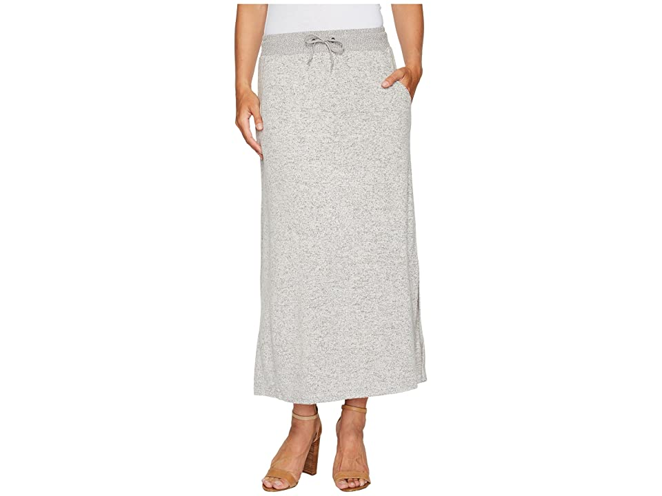 Tribal Pull-On 36 Long Skirt (Grey Mix) Women
