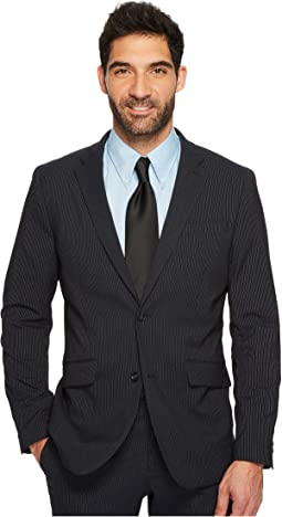 Slim Fit Subtle Pinstripe Suit Jacket