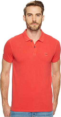 BOSS Orange - Prime Short Sleeve Acid Wash Polo