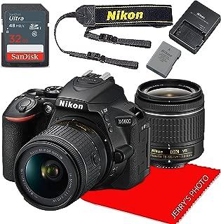 Nikon D5600 w/AF-P DX NIKKOR 18-55mm f/3.5-5.6G VR + 32GB Memory Bundle