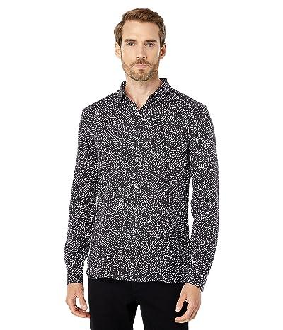 John Varvatos Star U.S.A. Ross Slim Fit Long Sleeve Sport Shirt Button Cuff W675W3B
