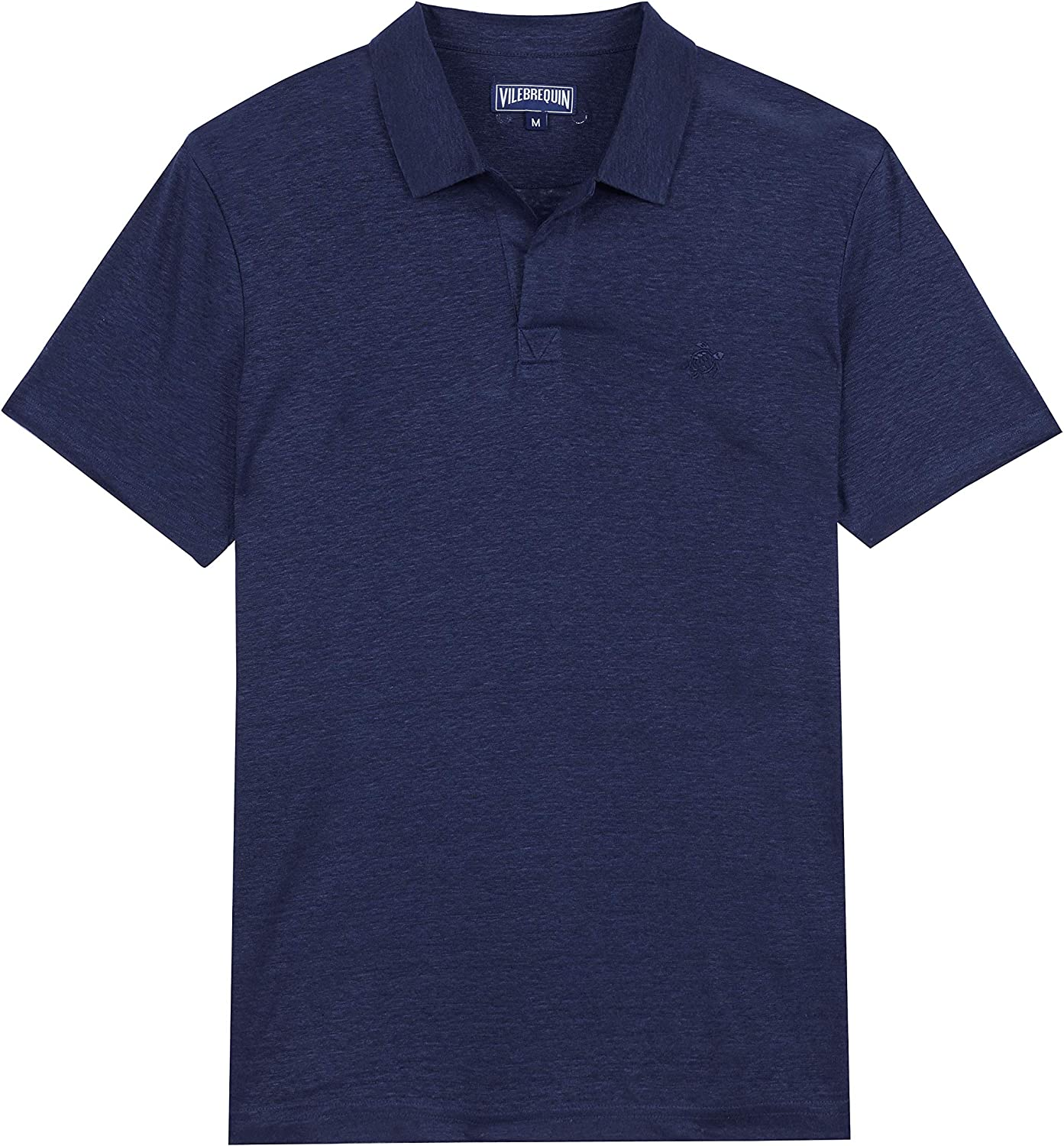 Vilebrequin Credence Men's Pyramid Solid Omaha Mall Polo Linen Jersey