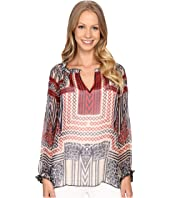 Lucky Brand - Ethnic Printed Blouse