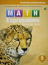 Best houghton mifflin math expressions grade 5 volume 1 Reviews