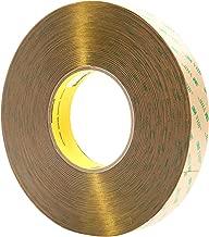 3M(TM) VHB(TM) Adhesive Transfer Tape F9473PC Clear, 1 in x 60 yd 10 mil, 9 Rolls per case (Pack of 9)