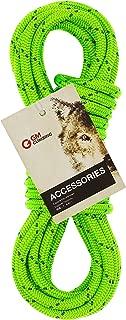 GM CLIMBING 6mm Accessory Cord Rope Double Braid Black Pre Cut CE