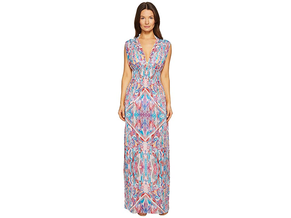 La Perla Free Spirit Long Dress (Mosaic Print) Women