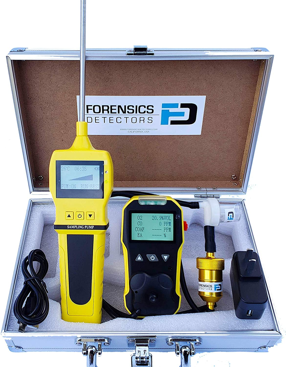 Basic Combustion Large Genuine Free Shipping special price Analyzer by CO Forensics Flue Gas