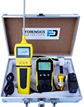 Residential Combustion Analyzer by Forensics | Basic Flue Gas Analyzer | CO and O2 Sensor | COAF & EA | Water Trap, Particle and NOx Filters | USB Recharge | Large Display & Backlight |