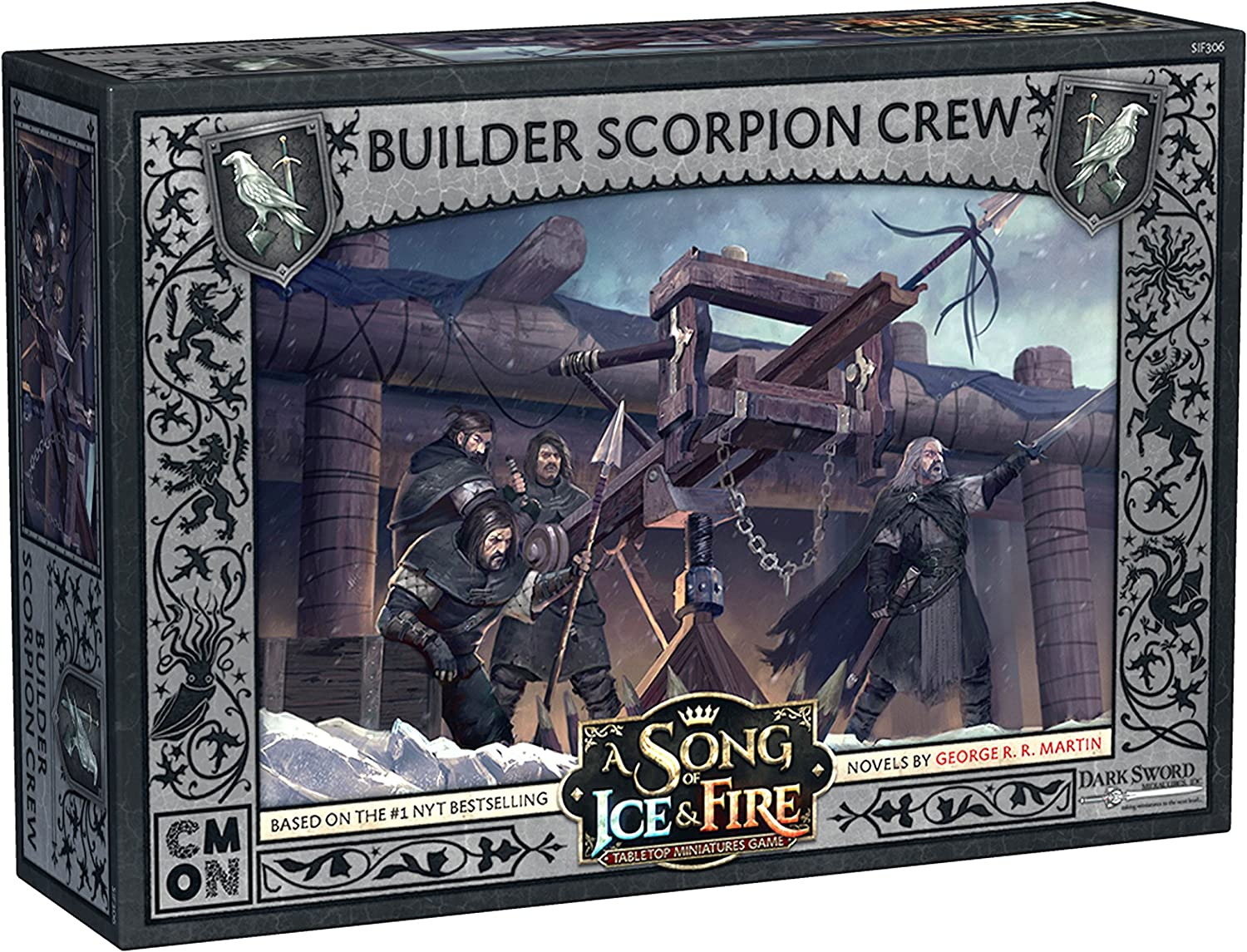 CoolMiniOrNot CMNSIF306 Game of Thrones A Song of Ice and Fire  Builder Scorpion Crew Expansion, Multicolor