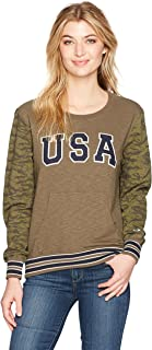 Champion Women's French Terry Camo Sweatshirt (Limited Edition)