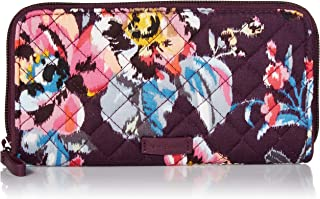 Women's Signature Cotton Georgia Wallet with RFID Protection