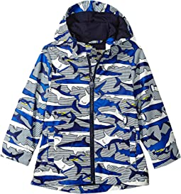 Joules Kids Printed Rubber Coat (Toddler/Little Kids)