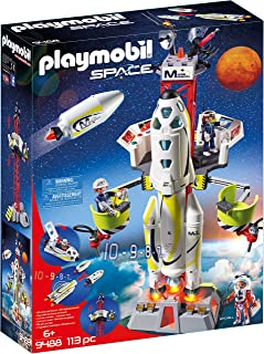Playmobil Space Mission Rocket With Launch Site 9488