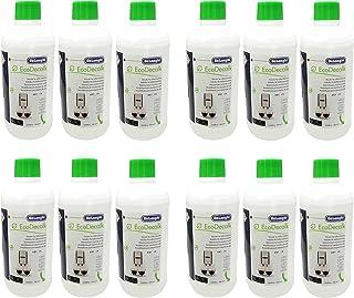 DeLonghi Lot de 12 détartrants EcoDecalk pour machines à café DLSC500 / 8004399329492 - 500 ml