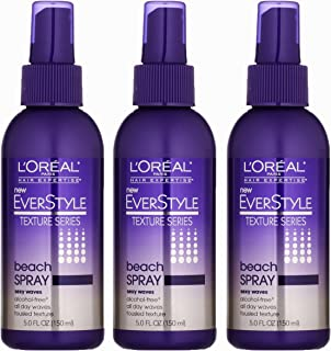L'oreal Paris Everstyle Texture Series Beach Spray, 5.0 Ounce (Pack of 3)
