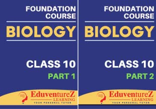 Biology Foundation Course for NEET/Olympiad/NTSE: Class 10 (2 Book Series)