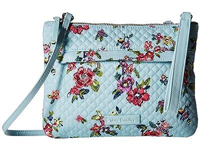 Vera Bradley Iconic Custom Crossbody (Water Bouquet) Cross Body Handbags