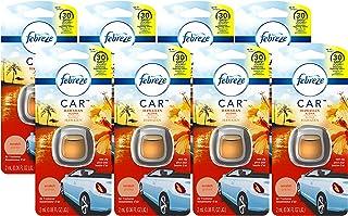 Febreze Car Air Freshener, Hawaiian Aloha (8 Ct, .06 Fl Oz)